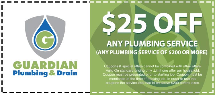 Discounts Any Plumbing Service