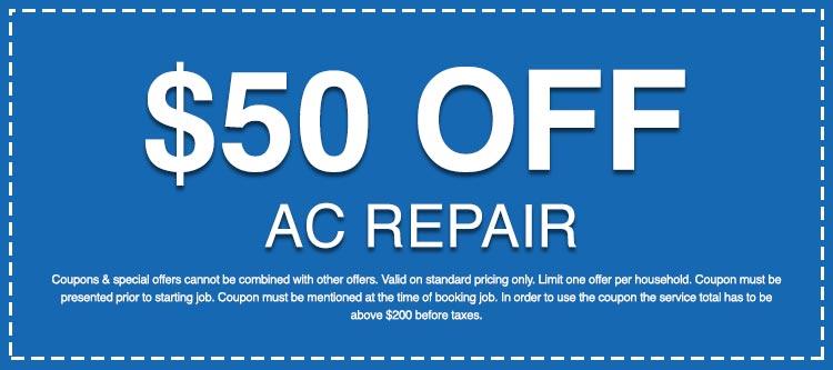 Discounts on AC Repair