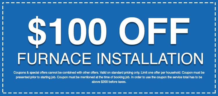 Discounts on Furnace Installation