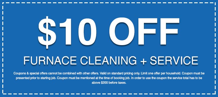 Discounts on Furnace Cleaning + Service