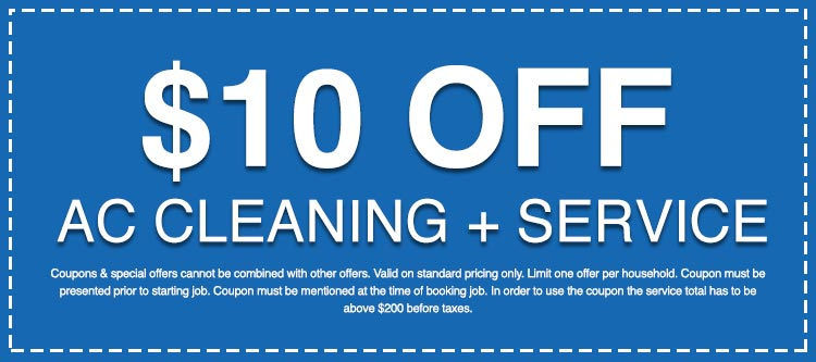 Discounts on AC Cleaning + Service